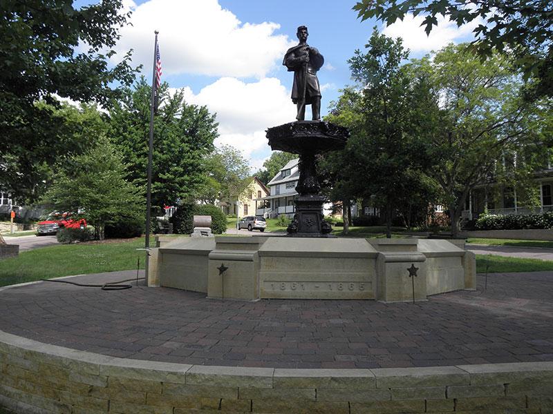 Boy In Blue Memorial