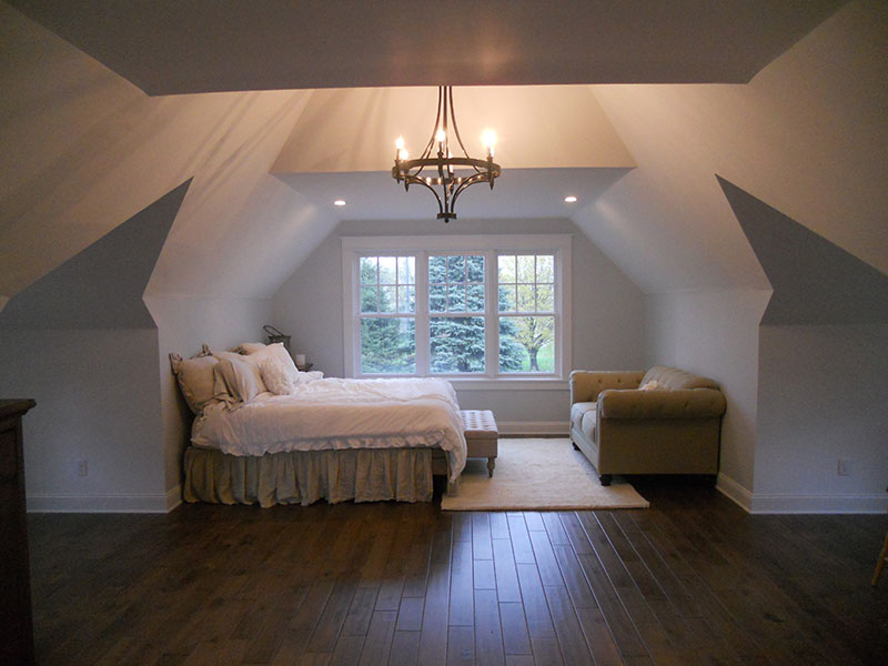 Bedroom Residential Goodrich Construction
