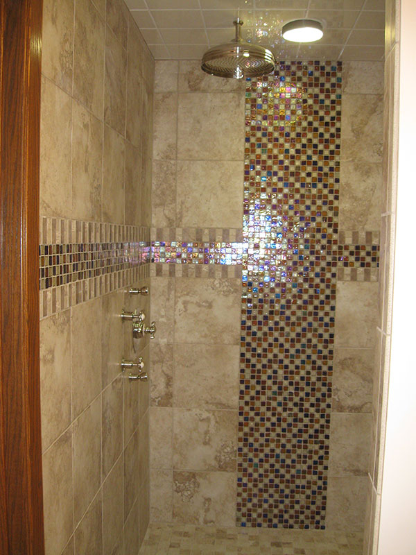 Detailed Shower Bathroom Bathroom Shower Remodel Goodrich Gallery