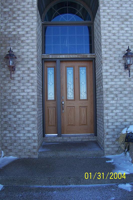 Door Entry Way Residential Goodrich Construction