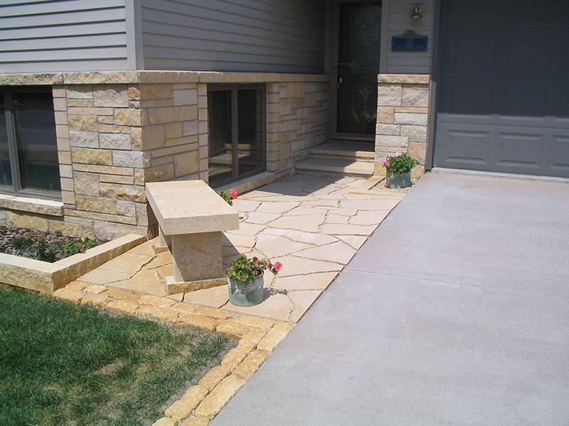 Exterior Entryway Masonry Concrete Stonework Gallery