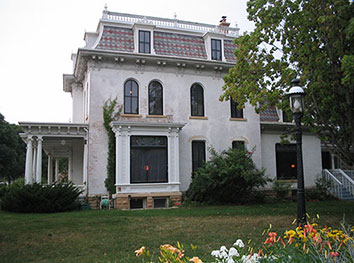 Hubbard House Exterior Historic Renvoations