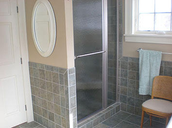 Qualset Shower Residential Bathroom