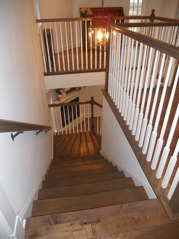 Stairwell Residential Goodrich Construction