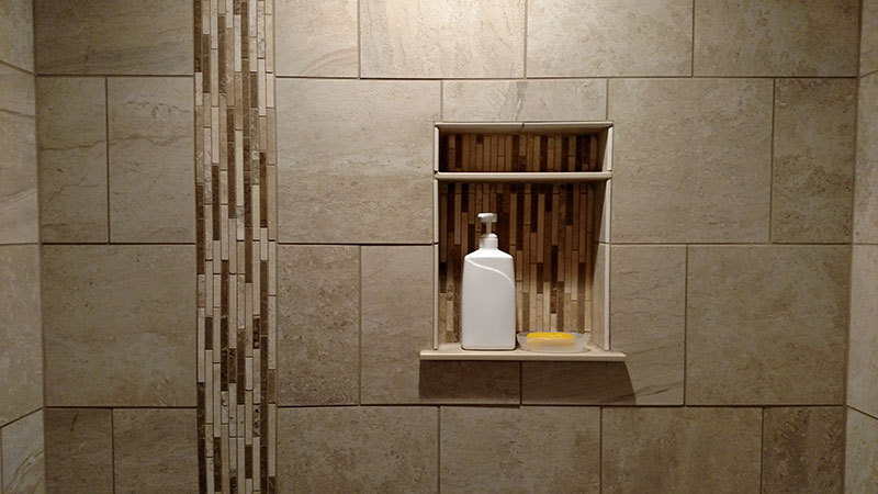Tiled Shower Bathroom Goodrich Gallery